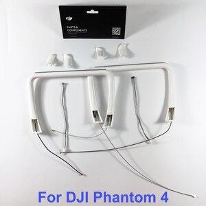 Image 1 - Genuino DJI Phantom 4 Parte 26 carrello di Atterraggio Costruito in Antenna & Compass & Cover per P4 RC Quadcopter di ricambio Parti di Riparazione