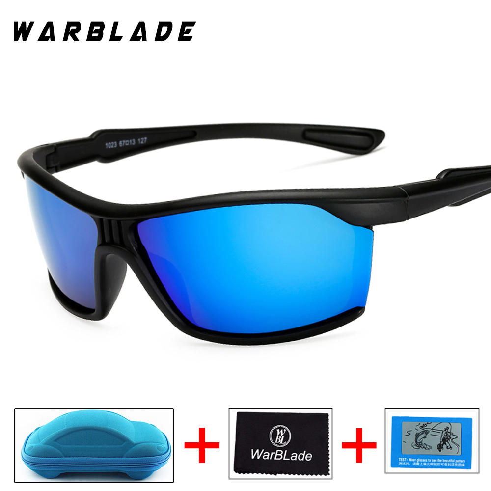 Mens Polarized Sunglasses Black Night Driving Safety Sun Glasses 2018 New Hot Sale Mirror Goggles UV400 Eyewears with box