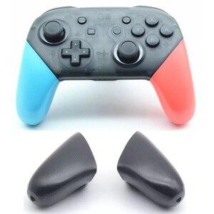 Image 1 - Contrôleur de commutateur de ntint Pro poignées antidérapantes de remplacement de coquille de poignée de point couverture pour NS NintendoSwitch PRO accessoires ABS TPR