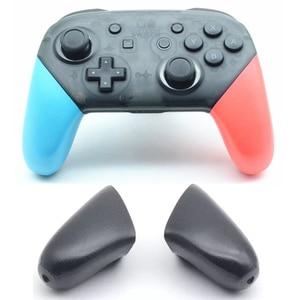Image 1 - Nintend מתג פרו בקר אנטי להחליק אחיזת נקודת פגז החלפת ידיות כיסוי עבור NS NintendoSwitch פרו אביזרי ABS TPR