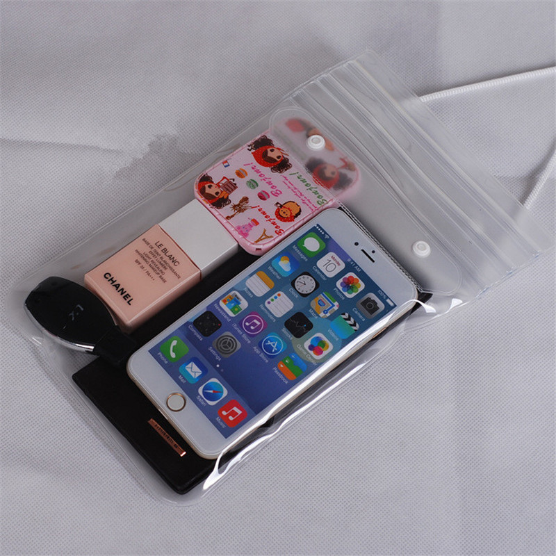 Waterproof Sports Clear Bag <font><b>Neck</b></font> Bag Swimming Drifting Diving Pack Pouch Underwater Dry <font><b>Case</b></font> <font><b>Phone</b></font> Pocket