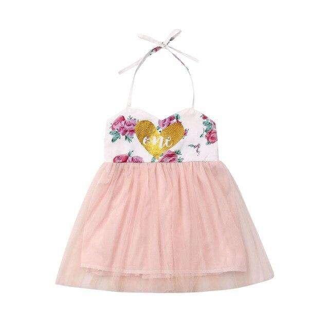 חדש תינוקת עוגת לרסק הראשונה 1st יום הולדת תלבושת צבעוני טוטו חצאית Romper למעלה