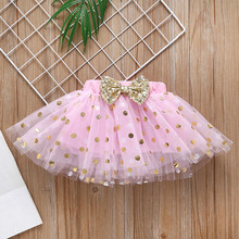 Easter Baby Girl Sequin Bunny Polka Dot Tutu Dress Set