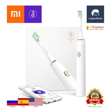 Original Xiaomi SOOCAS / SOOCARE X3 Sonic Electric Toothbrush / Bluetooth Linkage Wireless Charging IPX7 Waterproof Rating