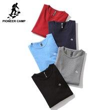 Пионерский лагерь новые базовые классические мужские свитер брендовая одежда  простой однотонный свитер мужский наивысшего качества осенний пуловер AMS705190