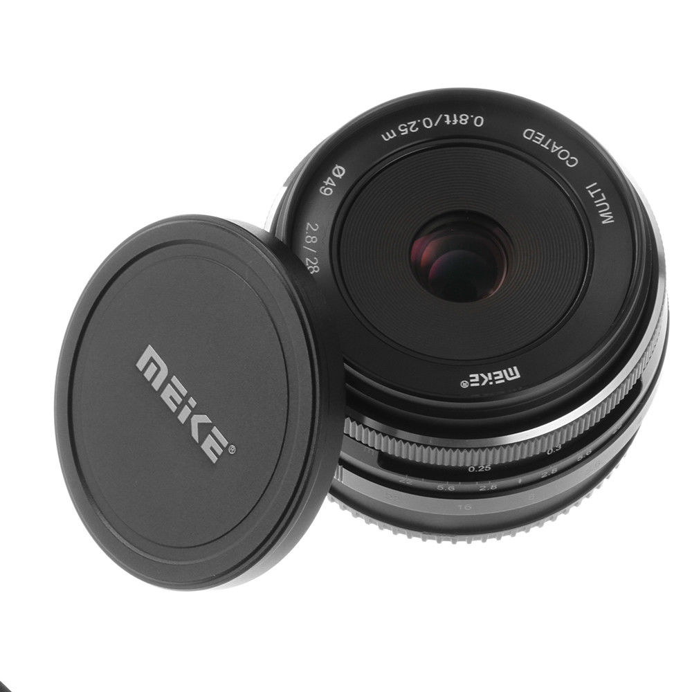 28mm f2 8 Large Aperture Manual Focus Lens MF Wide angle prime For Sony E Mount