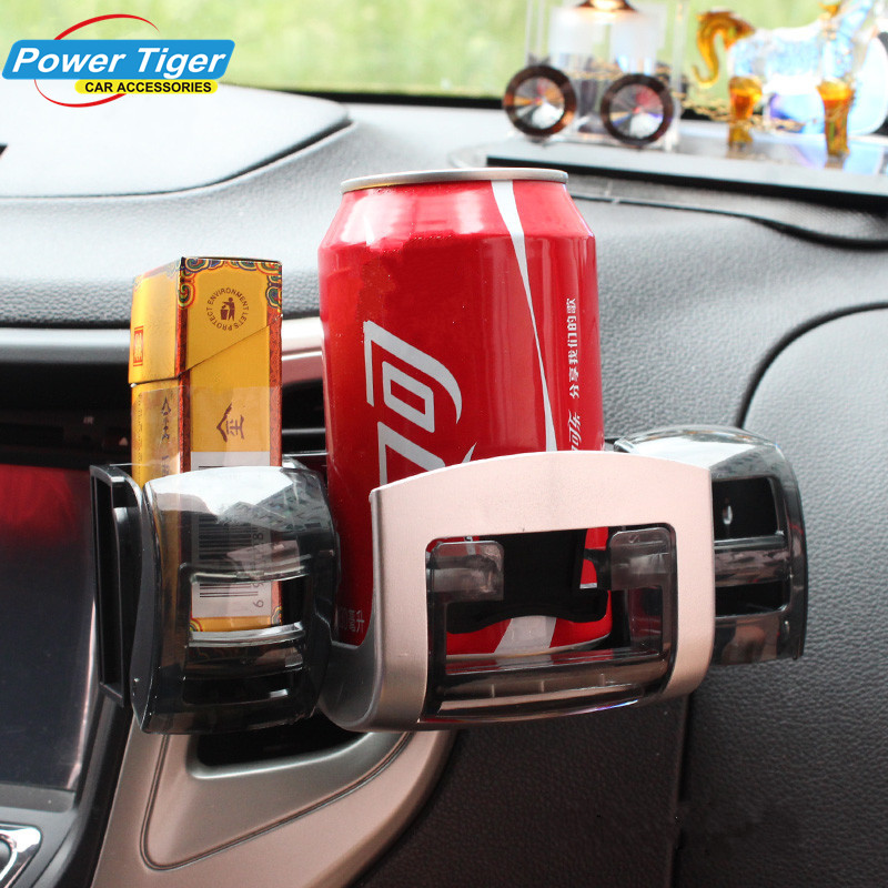 Car Outlet Water Car Cup Holder Plastic Drink Holder Air Conditioning Outlet Multifunction Cigarette Holder Cup Holders
