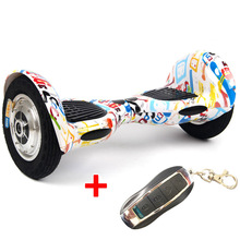 Hoverboard 10 inch 2 wheels standing drift board self balance with remote electric scooter skatebaord safety battery