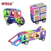 Mini Magnetic Designer Building Block Toys 48 78PCS 3D DIY Construction For Children