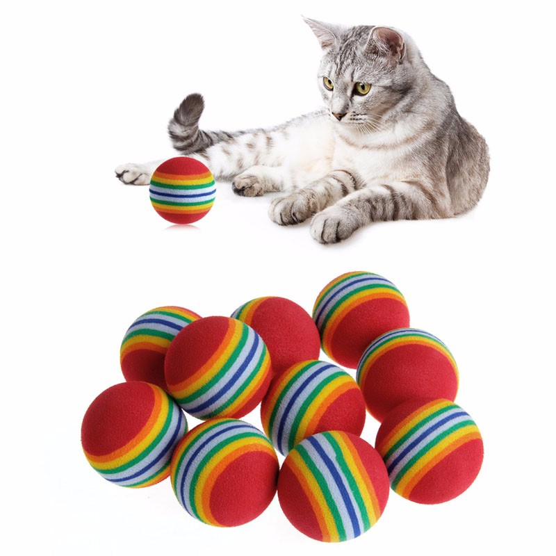 https://ae01.alicdn.com/kf/HTB1n2BlSVXXXXaCaXXXq6xXFXXXP/New-10pcs-lot-Super-font-b-Q-b-font-Rainbow-Ball-Pet-font-b-Cat-b.jpg