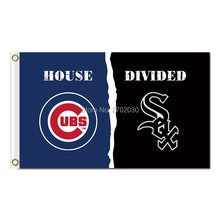 Chicago Cubs Flag 3ftx5ft With Metal Grommets Chicago Cubs W Flag New 3x5ft 90x150cm Polyester Football Team Banner