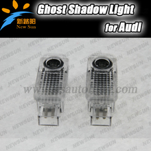 12V Wireless LED Car door Welcome laser projector 3D Logo emblem light Ghost Shadow Light For Audi A8 A6L A6 A4L A4 R8 TT Q5