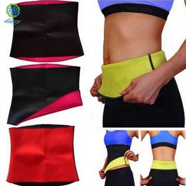 Slimming Warps Women Shaper Abdominal Weight Loss Belt Sweat Sauna Neoprene Body Shaper Belt Hot Shapers Waist Trainer Waistband 2