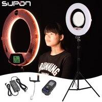 SUPON селфи кольцо света хост кольцо светодиодный FE 480II 3200 К 5500 К затемнения Камера фото/Studio/телефон /видео 96 Вт светодиодный регулировать свет