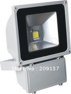 Free shipping 80W LED Flood Light outdoor lighting, AC 85-265V,IP67, 2 years warranty 5pcs lot free shipping e27 12w 12 1w par 38 led bulb lamp light 85 256v with 12 leds light warranty 2 years ce