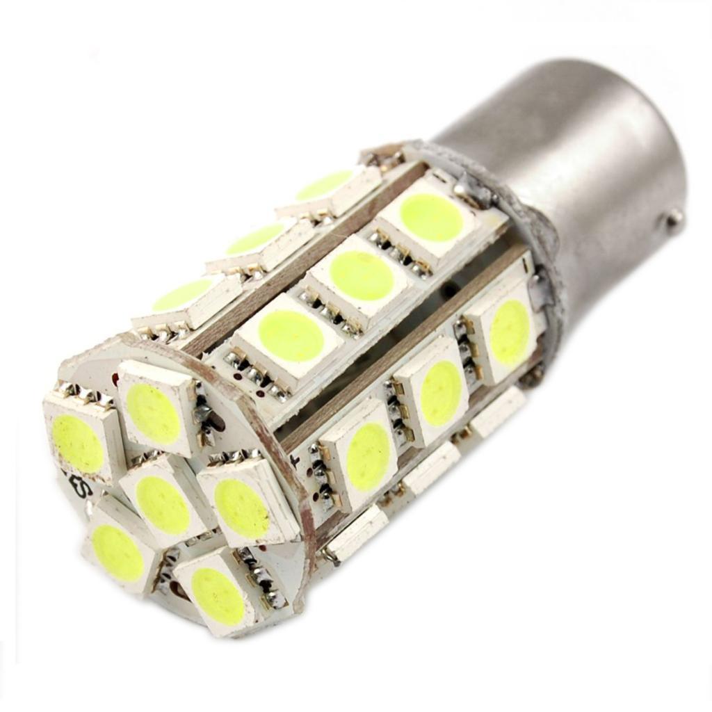 10х) 10х Белый 1156 BA15s из светодиодов 27-SMD свет лампы хвост резервного копирования