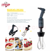 ITOP Immersion Blender 160mm Sticker 185mm Whisk Commercial Food Mixer