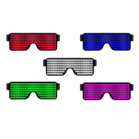 Multifunction Cool Quick Flash Glowing Led Glasses Carnival Nightclub Luminous Sunglasses For Glow Party Supplies