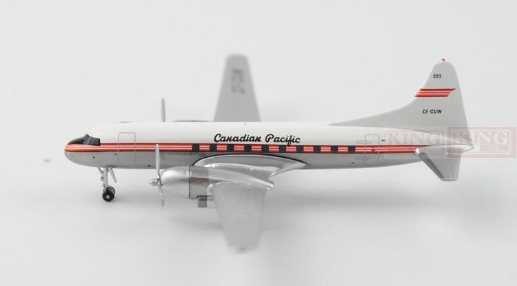 Aeroclassics Air Canada CF-CUW 1:400 DC-4 commercial jetliners plane model hobby