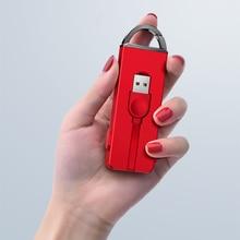 3 в 1 Usb Тип Кабеля C mi cro Зарядное устройство кабель для IPhone X 8 7 6 6s плюс брелок Скрытая зарядный кабель для сяо mi x 2 s A1 5