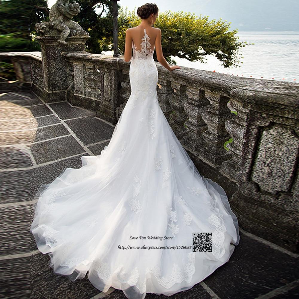 Elegant Two Pieces Lace Arab Wedding Dress Sheath 2017: 2017 Elegant Lebanon Wedding Dresses Turkey Mermaid Bride