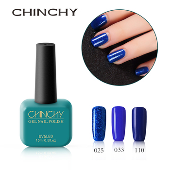 bab616bcbb CHINCHY 15 ml   3 Gel de uñas de Color azul para arte de uñas DIY diseño  largo-Lastig UV laca LED belleza manicura duradera esmalte no tóxico