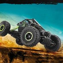 1:18 игрушка RC автомобиль 2.4 г 4WD рок Crawlers 4 вождение автомобиля двойной привода большая нога модель автомобиля — дорога автомобиль 25 км/ч