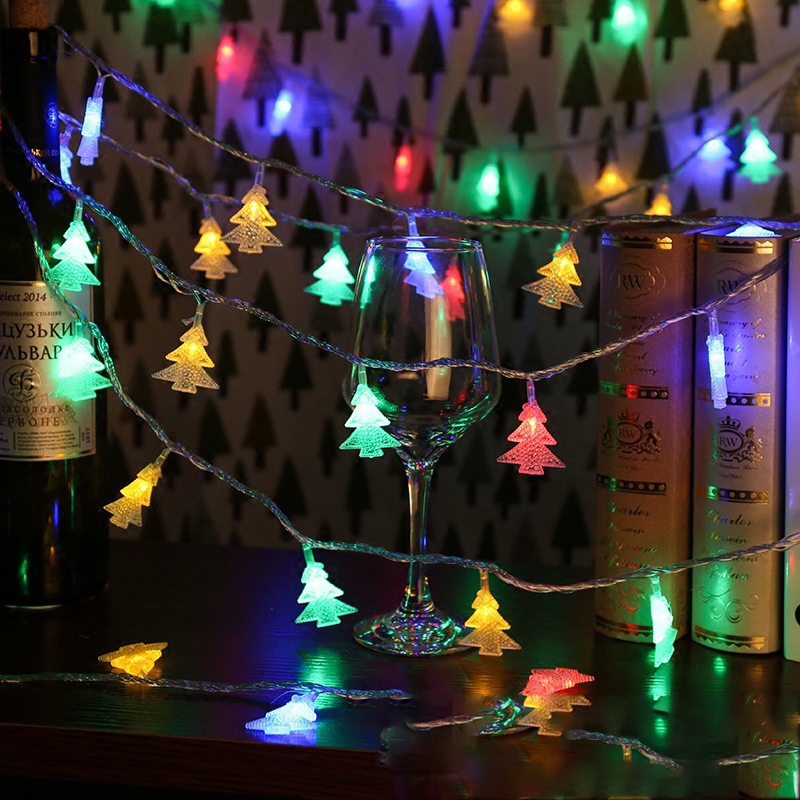 <font><b>10M</b></font> <font><b>100LED</b></font> <font><b>220V</b></font> EU Christmas tree string light fairy curtain light outdoor garland for holiday party XMAS Wedding New Year Decor image