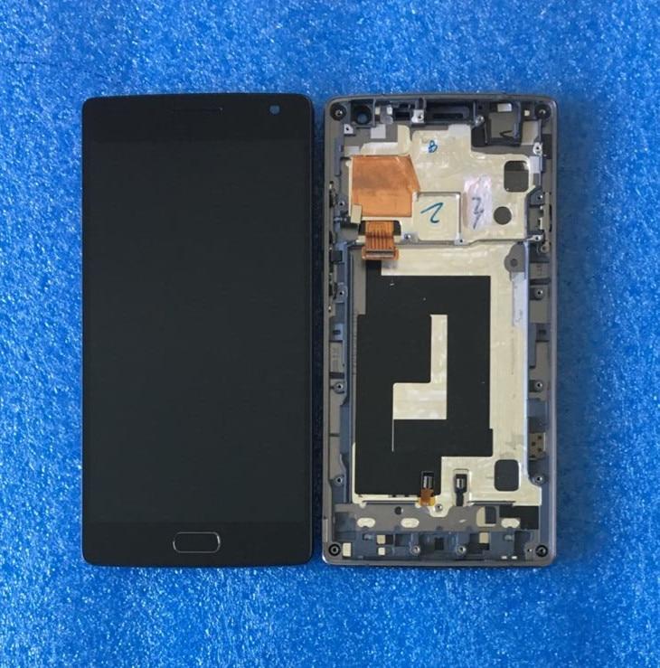 D'origine Pour oneplus Deux oneplus 2 A2001 Axisinternational LCD écran D'affichage avec cadre + Tactile Digitizer pour oneplus 2 un plus 2