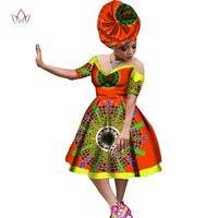 2017 brw بازان الأفريقي طباعة الملابس مثير قبالة الكتف الصيف فستان قصير الأكمام vestidos زائد الحجم شاطئ اللباس WY1261