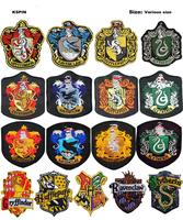Embroidery Harry Potter Patches Iron On Saw On Patches 10pcs A Lot