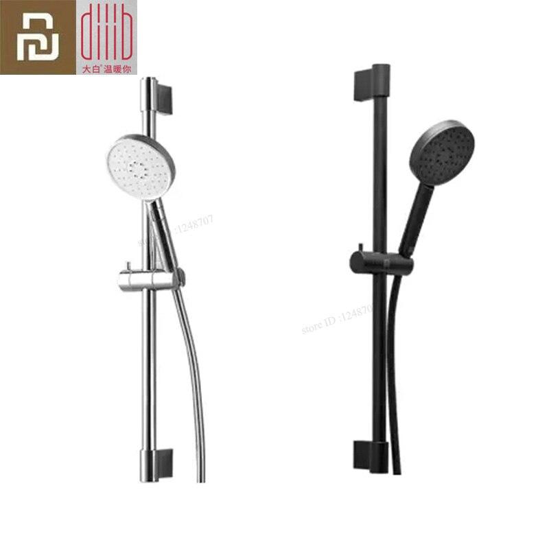 1Set Xiaomi Mijia Dabai Diiib 3 Modes Handheld Shower Head Set 360 Degree 120mm 53 Water Hole Powerful Shower With Holder