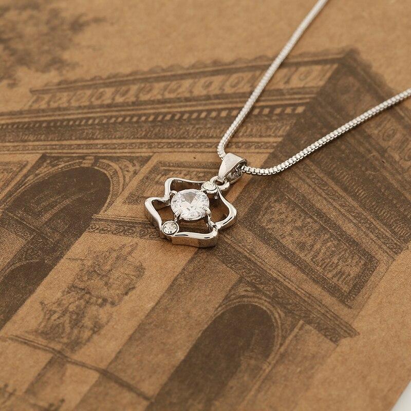 WAN JIE SHI PIN 12 konstelasi Pendant kalung Pendek inlay zircon - Perhiasan fashion - Foto 4