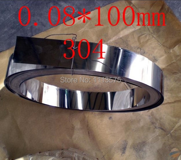 0.08 thickness 0.08*100mm authentic 304 321 316 stainless steel col rolled bright thin foil tape strip sheet plate coil roll 0 08 thickness 0 08 100mm authentic 304 321 316 stainless steel col rolled bright thin foil tape strip sheet plate coil roll
