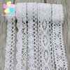 Lucia Crafts 2yards/lot Cotton lace fabric embroidered net lace trim ribbon for home decoration 17012012
