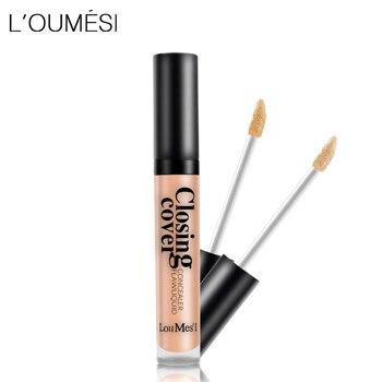 Loumesi Makeup Concealer Liquid concealer Perfect Cover Pores Dark Circles Oil-control Waterproof Liquid Concealer Face Primer