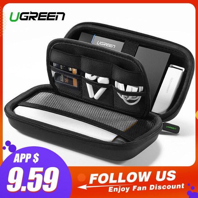 Ugreen Power Bank Lưng Ốp Lưng Hộp 2.5 Đĩa Cáp USB Lưu Trữ Bên Ngoài Mang SSD Ốp Lưng