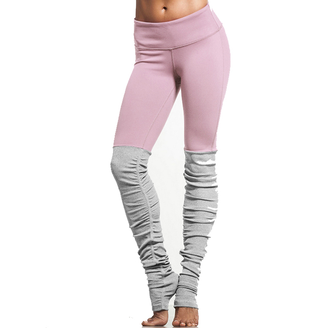 145b779f013aa9 Skinny Running Tights Women Yoga Pants Black Sports Leggings Pink Gym  Leggins Sport Women Fitness Pants
