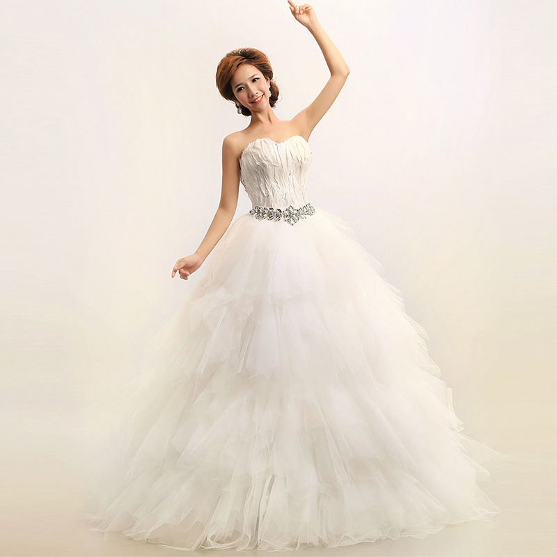 Popular white feather dress buy cheap white feather dress for White feather wedding dress