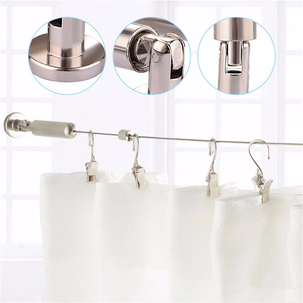 Hot Sale A Set High End Stainless Steel Curtain Drape Wire