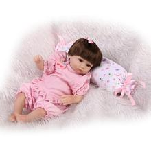 Very Cute 42cm 17inch Reborn-Baby-Doll With Real Cotton Baby Doll Clothes Hot Welcome Benecas Brinquedos As Birthday Hot Gift