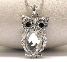 Best Cheap Zinc Alloy Necklace Owl Crystal Necklaces Pendants