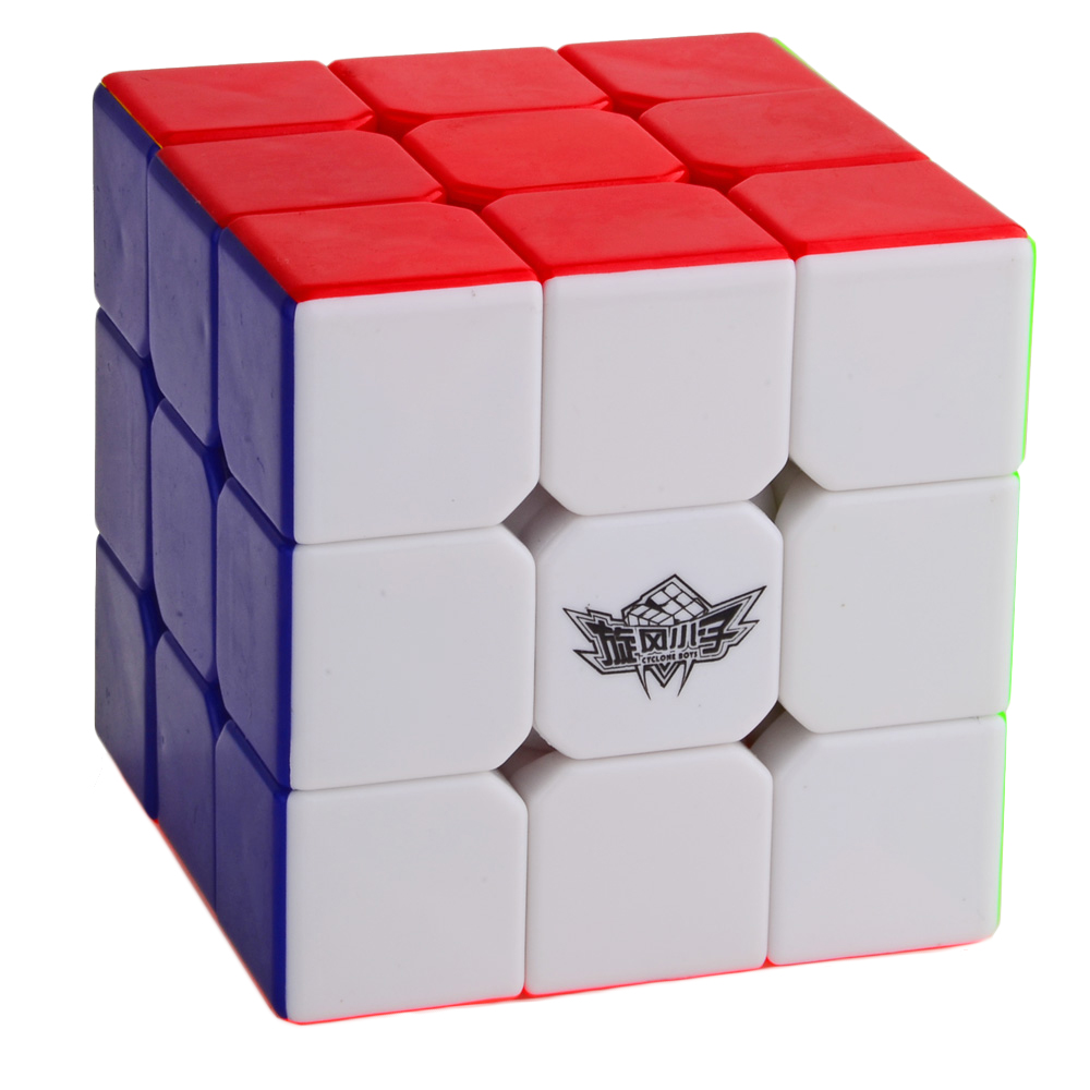 Cyclone Boys 3x3x3 Simplified Version Magic Cube Stickerless Colorful