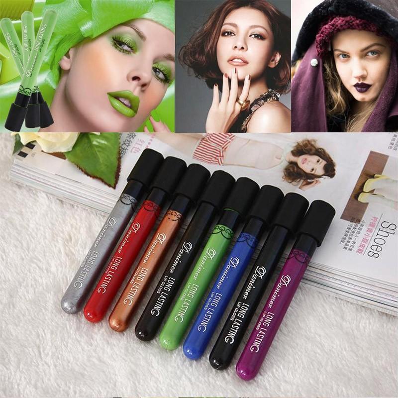 mate batom lipstick horas de terciopelo impermeable duradero brillo de labios maquillaje maquiagem vampiro gtico