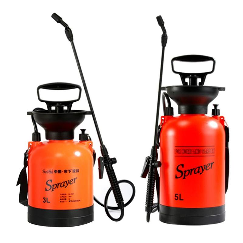3L/5L Air Pressure Sprayer With Shoulder Strap For Agricultural Gardening Watering Tool Pneumatic Garden Sprayers