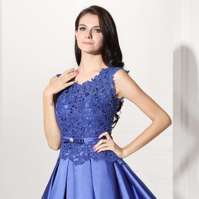 Noche Azul De Corto Vestido Vestido Nz0w8opxnk
