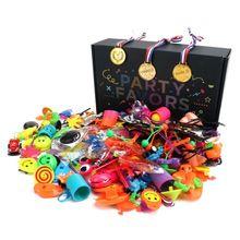 150 шт./компл. детские школьные награды призы игрушки Подарки праздничный день рождения партия поддерживает поставки Ассорти подарок ролевые игры