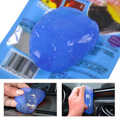 Blue Magic Автомобиль Vent Воздуха На Выходе Коробка Для Хранения Панели Ручка Двери Пыли клей Очиститель Для Audi A4 Mercedes BMW F10 VW Golf Toyota RAV4