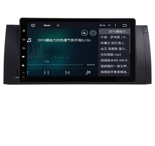 """Android 10.0 2G ROM GPS Navi 9"""" Full Touch Car DVD Multimedia for BMW E53 X5 E39 5 97-06 with Wifi 3G  BT RDS Radio Can bus DVR"""