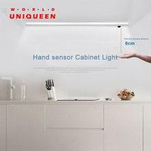 Hand pass переключатель датчика Алюминий сплав Солт кухня свет со светодиодной подсветкой, DC12V 18 Вт источника питания, wihite, CW, WW варианты